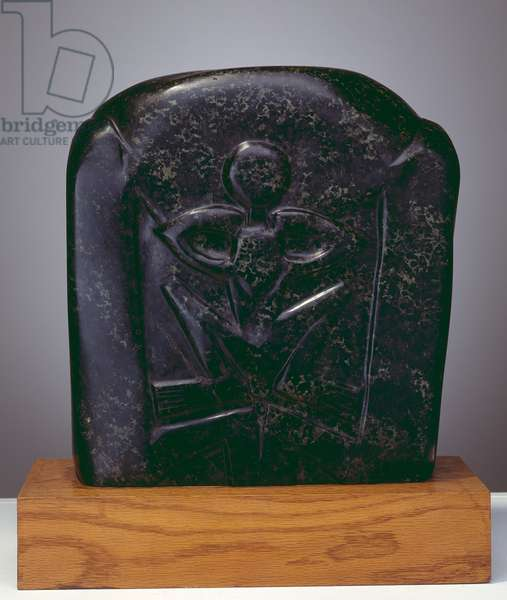 Flenite Relief, 1913 (serpentine stone)