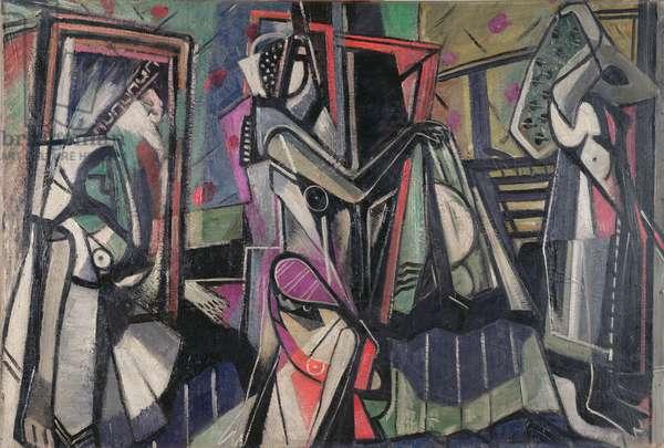 Figure Composition, 1937 (oil on canvas)
