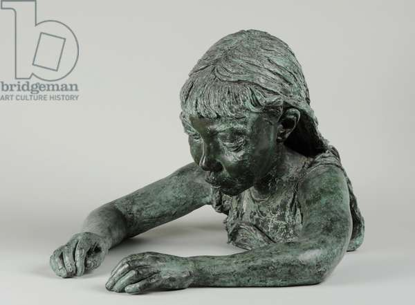 Peggy Jean (Sick Child), 1928 (bronze) (see also 440320 & 440321)