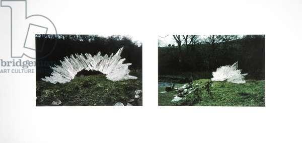 Ice Arch, 1984 (cibachrome photos)