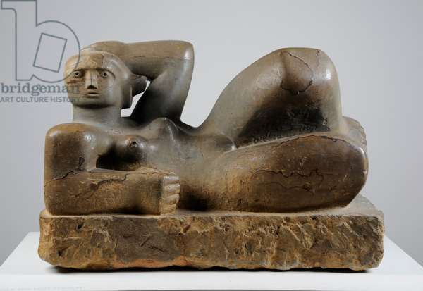 Reclining Figure, 1929 (brown Hornton stone)