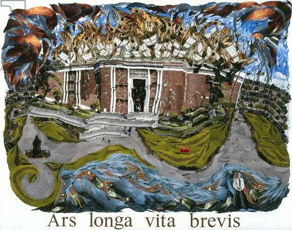 Ars longa vita brevis, 2008 (photocollage)
