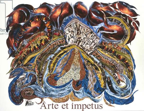 Arte et impetus, 2009 (photocollage)