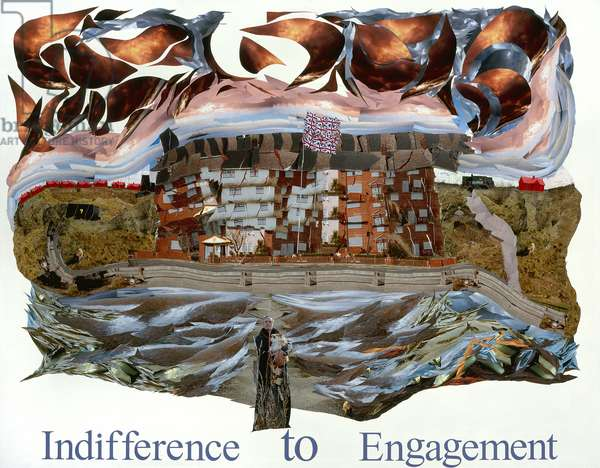 Indifference to Engagement, 2008 (photocollage)