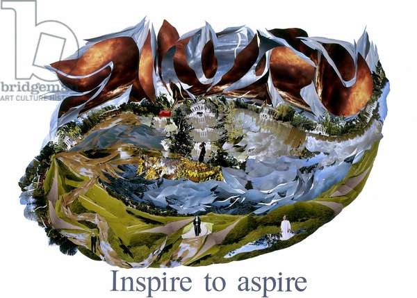 Inspire to aspire, 2008 (photocollage)