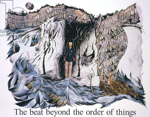 The beat beyond the order of things, 2010 (photocollage)