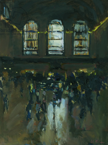 Grand Central Station, 2012, (oil on canvas)