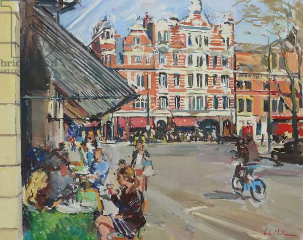 Sloane Square, 2014, (oil on canvas)