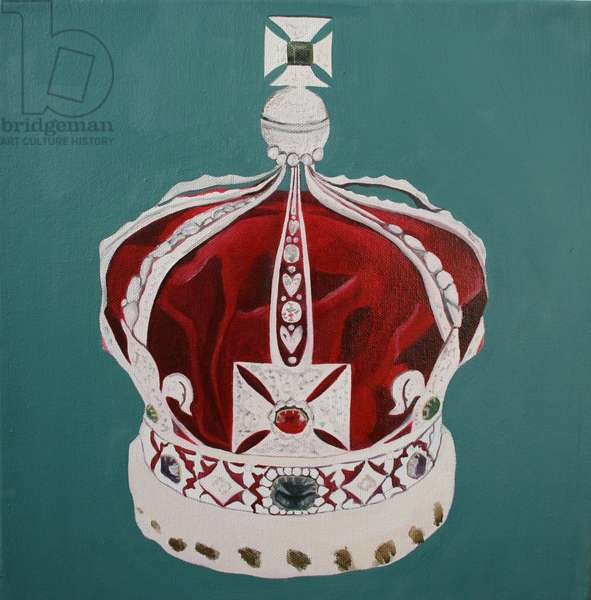 Crown Jewels 4, 2001 (oil on canvas)