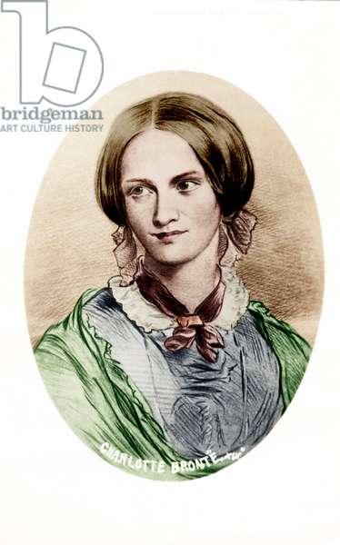 Charlotte Bronte, British novelist. 1816-1855