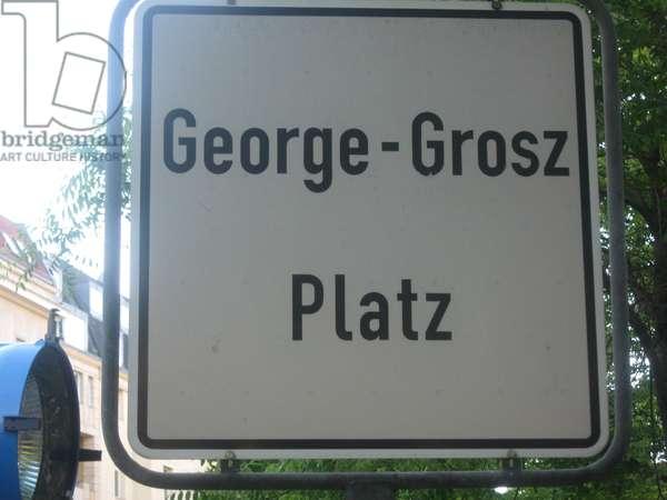 Georg Grosz Platz /