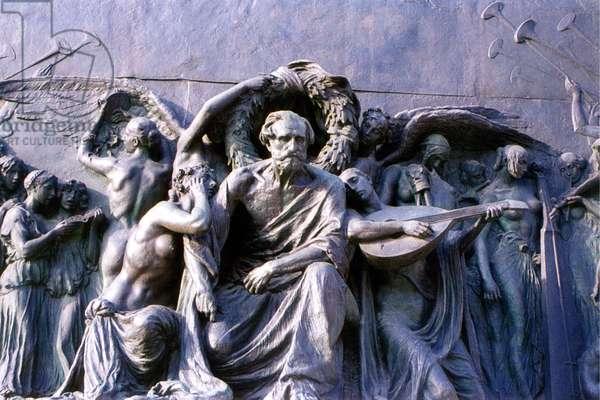 Monument to Giuseppe Verdi