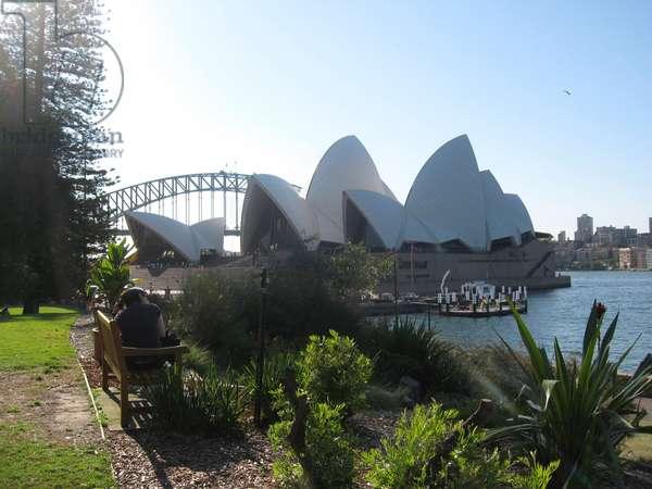 Sydney opera house and