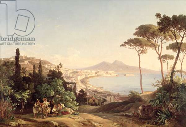 View of Naples, 1837/38 (oil on canvas)