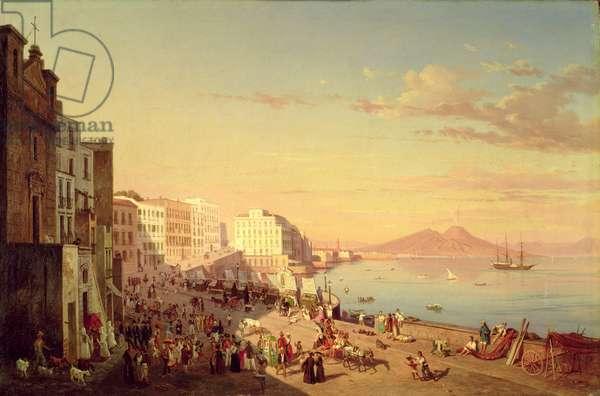 Naples, c.1830 (oil on canvas)