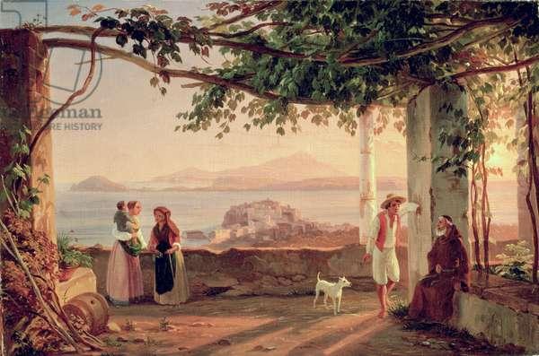 Pozzuoli, c.1831 (oil on canvas)