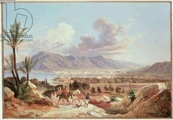 Palermo di Belmonte, c.1831 (oil on canvas)