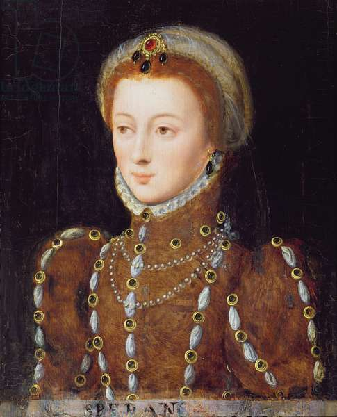 Portrait of a Lady, possibly Anna von Egmont (oil on panel)