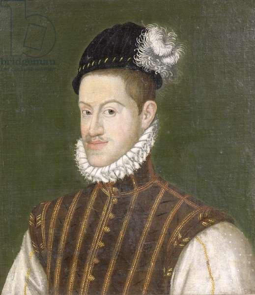 Portrait of Emperor Rudolf II (1552-1612) before 1576 (oil on canvas)