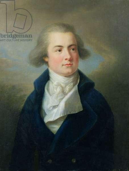Portrait of Josef Franz Maximilian, 7th Prince of Lobkowicz (oil on canvas)