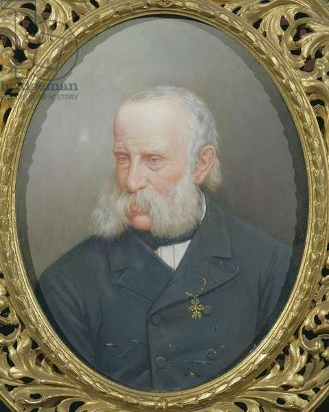 Portrait of Archduke Franz Karl of Austria (1802-78) (oil on canvas)