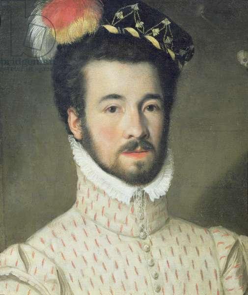Portrait of a gentleman said to be Garcia Hurtava de Mendoza, viceroy to Peru (oil on canvas)