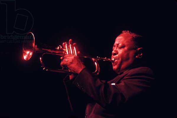 Roy Eldridge playing flugelhorn