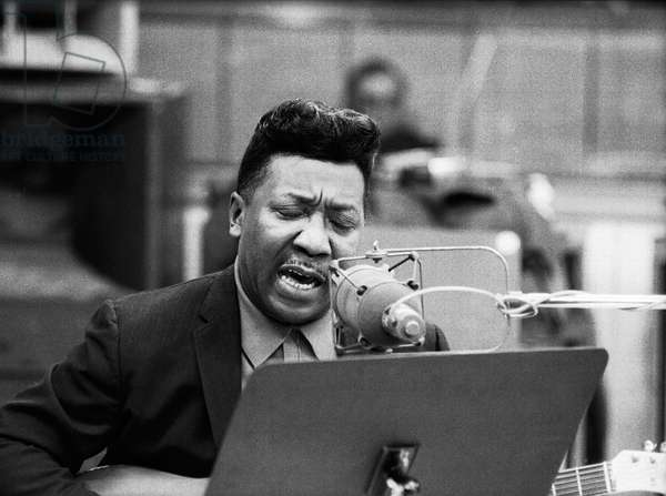 Muddy Waters singing and