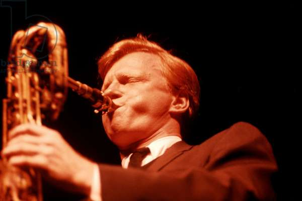 Gerry Mulligan plays baritone