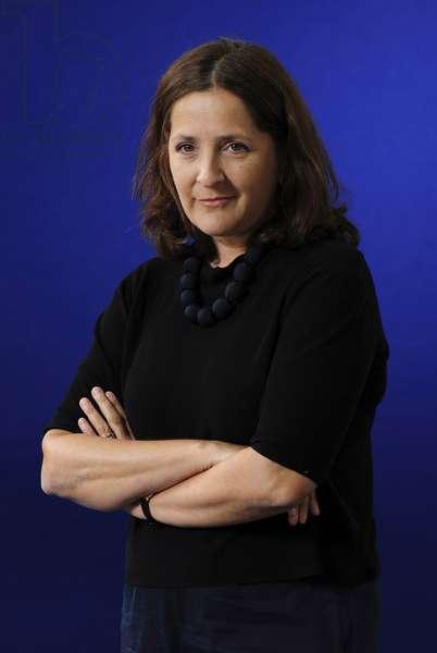Frances Harrison at the 2013 Edinburgh International Book Festival