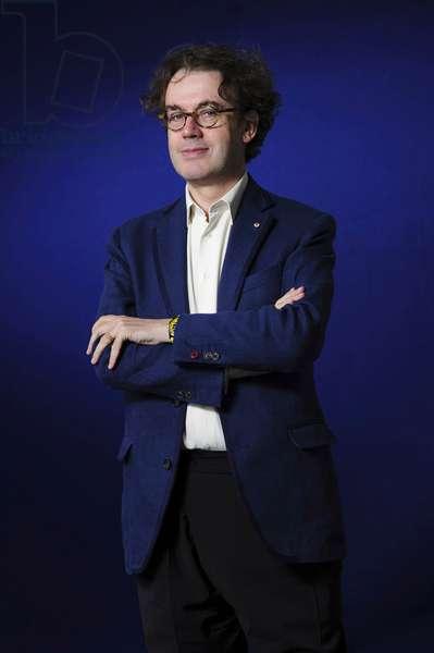 Jonathan Mills at the 2013 Edinburgh International Book Festival