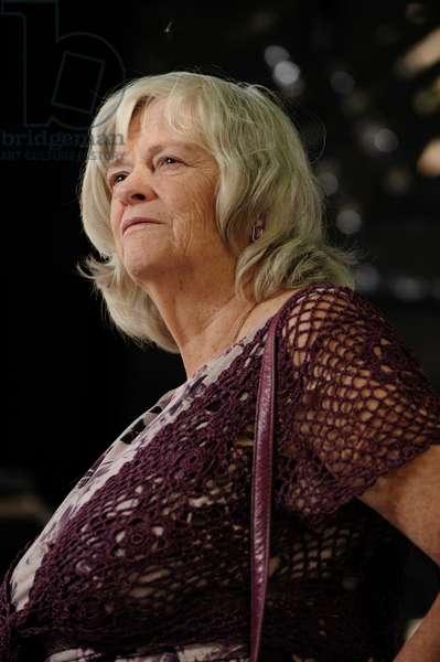 Ann Widdecombe at the 2013 Edinburgh International Book Festival