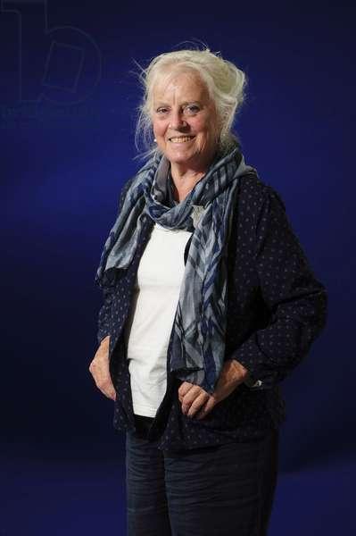 Mairi Hedderwick at the 2013 Edinburgh International Book Festival