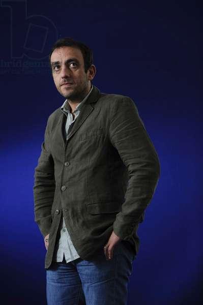Jerome Ferrari at the 2013 Edinburgh International Book Festival