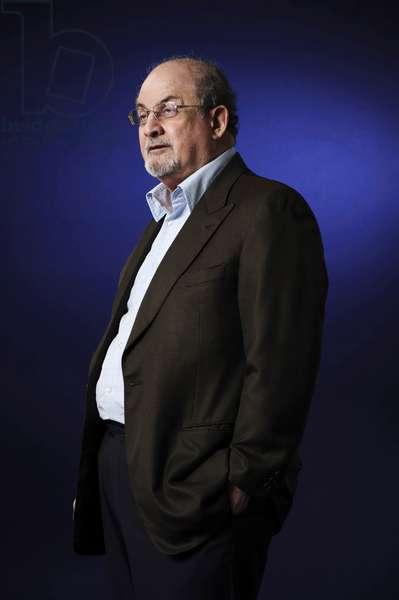 Salman Rushdie in  2013