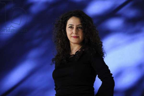 Sema Kaygusuz at the 2013 Edinburgh International Book Festival