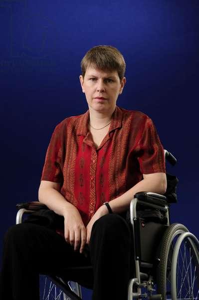 Kathleen Taylor at the 2013 Edinburgh International Book Festival