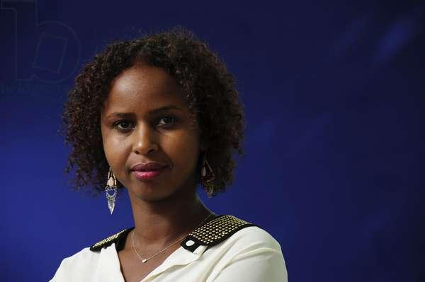 Nadifa Mohamed at the 2013 Edinburgh International Book Festival