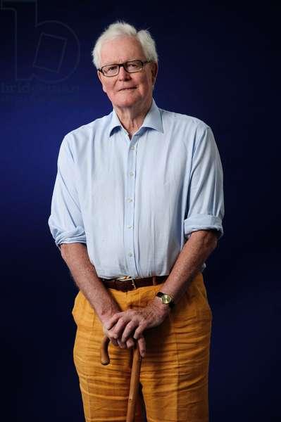 Douglas Hurd at the 2013 Edinburgh International Book Festival