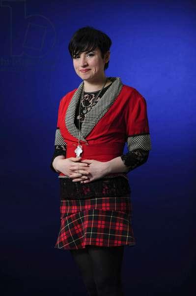 Laurie Penny at the 2013 Edinburgh International Book Festival