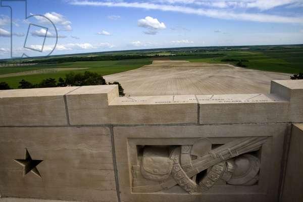 France, Champagne-Ardenne, Marne (51), Sommepy-Tahure (Sommepy Tahure) - American memorial of the battles of Champagne of the american army. Photography Florent Lamontagne