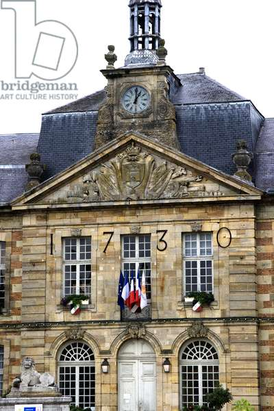 France, Champagne-Ardenne, Marne (51), Sainte Menehould (Sainte-Menehould) - City Hall. Photography Florent Lamontagne