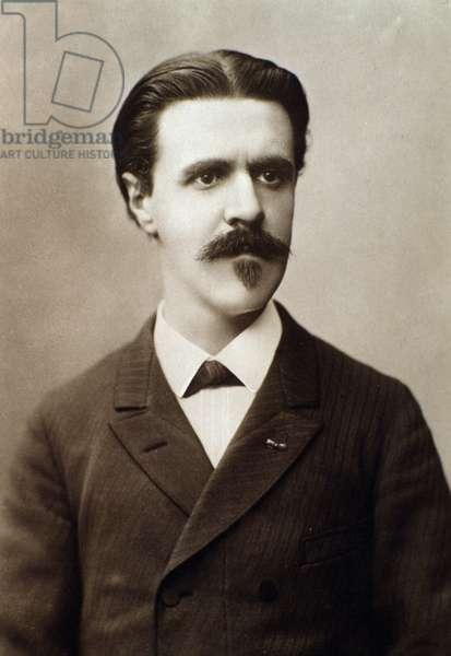 Portrait of Vincent d'Indy (1851-1931) french compose