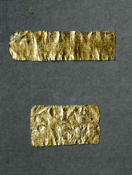 Golden Orphic tablets, from Thurii ,