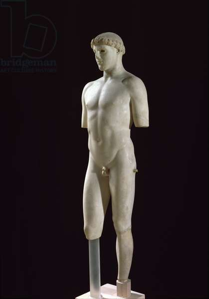 The Kritios Boy, after 490 BC (marble)