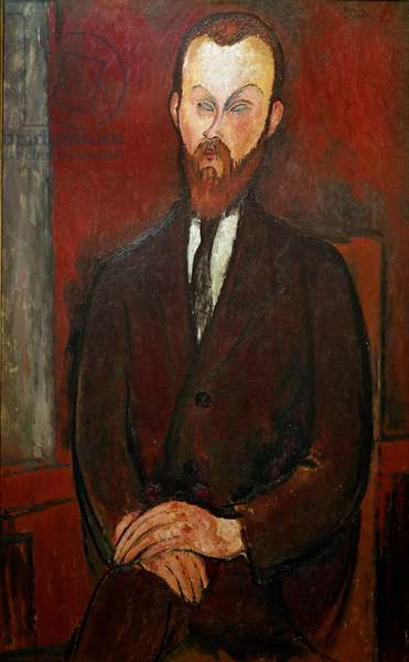 Count Wielhorski. Painting by Amedeo Modigliani (1884-1920), 1916. Oil on canvas Dim: 114 x 72 cm. Private Collection, Paris