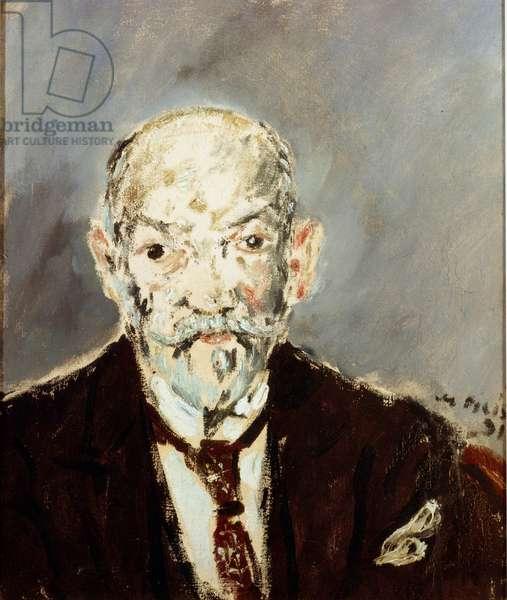 Portrait of a gourmet (portrait of Luigi Pirandello), 1931 (oil on canvas)