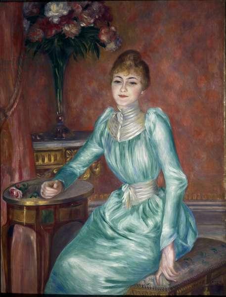 Portrait of Madame de Bonnieres  (oil on canvas, 1889)