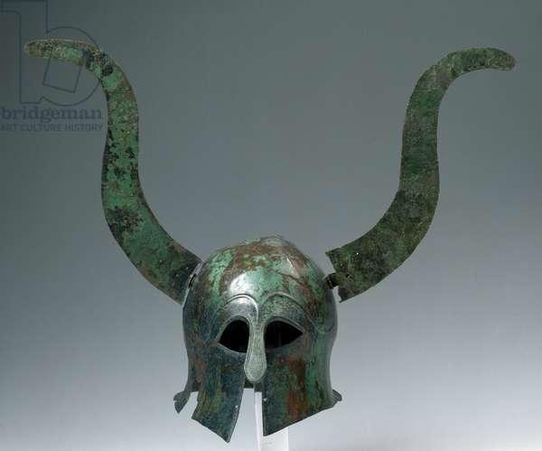 Helmet, from Chiaromonte (PZ) Sotto la Croce district , Conthian  type