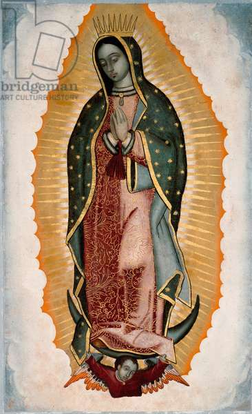 Representation of the Virgin (or Our Lady) of Guadalupe